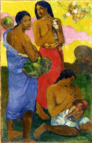 Paul Gauguin, Maternité