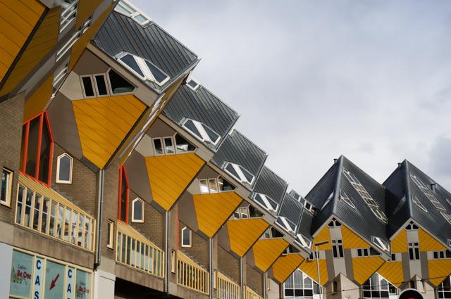maisons cubiques-rotterdam