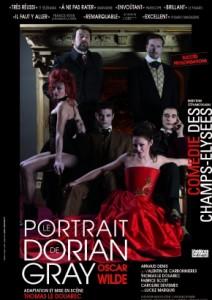 portrait dorian gray oscar wilde douarec comédie théâtre paris
