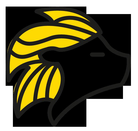 Lion-jaune