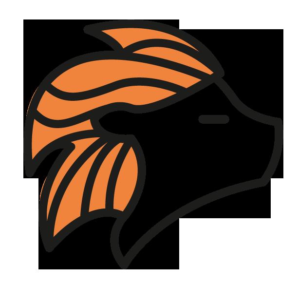 Lion-orange
