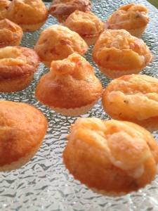 mini muffins aperitif