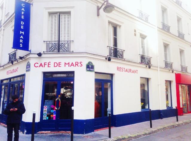 Cafe De Pars Rue Augereau Paris