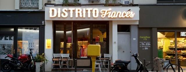 distrito frances restaurant mexicain paris