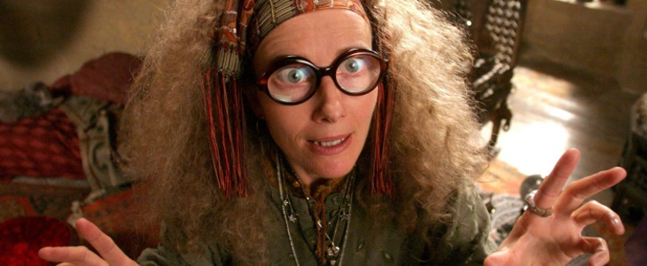 madame trelawney harry potter prof de divination