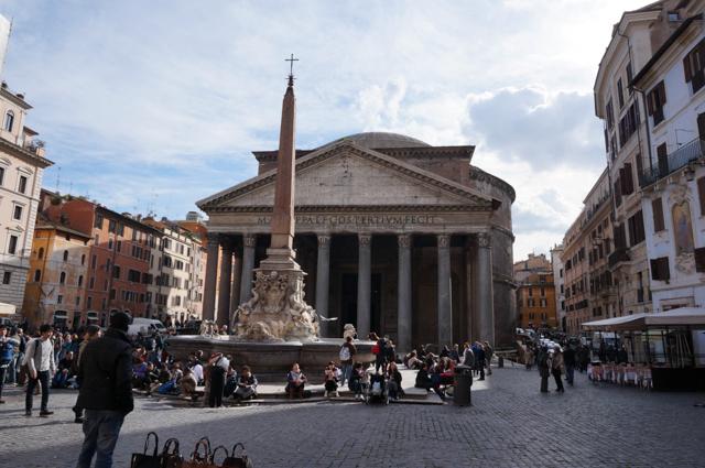 Panthéon-rome-exterieur-visite
