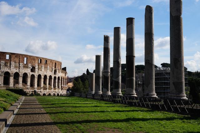 rome-colisee-palatin-forum-colonnes-visite